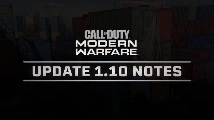 【CoD:MW】パッチ1.10登場 シーズン1開幕と新武器、新MAP追加