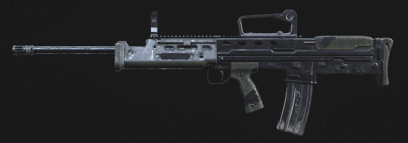 【CoD:MW】SA87の性能 強化され続けるLMG
