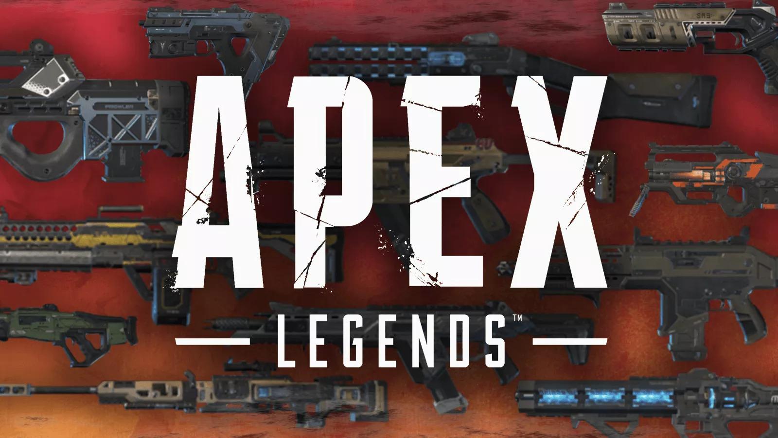 【Apex】海外勢が選ぶシーズン8の強武器ランク